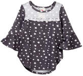 Jenna & Jessie Star Mesh Shirt (Little Girls)