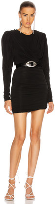 Isabel Marant Ghita Dress in Black | FWRD