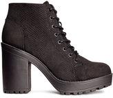 H&M Ankle Boots - Black - Ladies