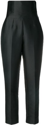 Stella McCartney high-waist corset trousers