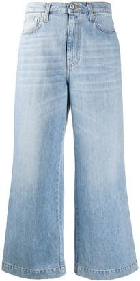 Nanushka Cropped Style Jeans