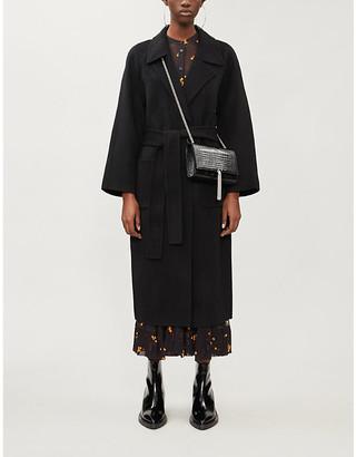 The Kooples Longline wool coat
