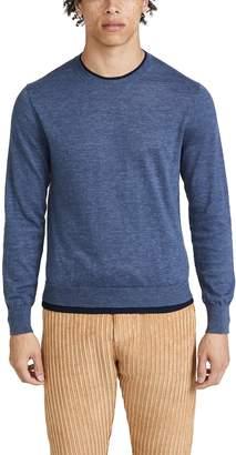 Club Monaco Double Hem Crew Sweater