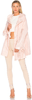 Fenty by Puma Bow Cuff Parachute Jacket in Pink. - size L (also in M,S,XS)