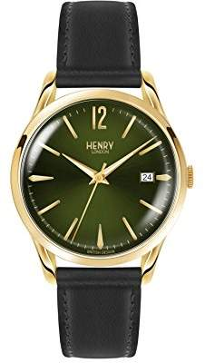Henry London Unisex-Adult Leather Watch Strap HL39-S-0100