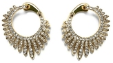 Vince Camuto Jeweled Starbust Hoop Earrings