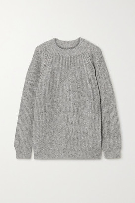 LAUREN MANOOGIAN Shaker Knitted Sweater - Light gray