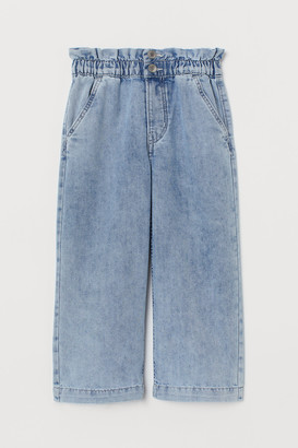 H&M Wide Leg Ankle Jeans