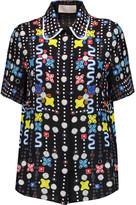 Peter Pilotto Printed silk shirt