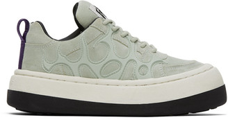 Eytys Green Sonic Canvas Sneakers
