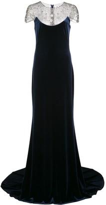 Tadashi Shoji Imelda crystal embellished gown