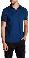 Ben Sherman Short Sleeve Oxford Pique Polo