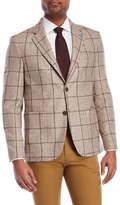 Tailorbyrd Tan Plaid Sport Coat