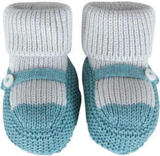 Little Bear Multicolor Bootee For Baby Boy