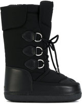 DSQUARED2 lace-up snow boots - women - Artificial Fur/Leather/Nylon/rubber - 36