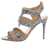 Jerome C. Rousseau Auber Glitter Sandals w/ Tags