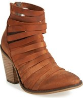 Free People 'Hybrid' Strappy Leather Bootie (Women)