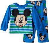Disney Disney's Mickey Mouse Striped Fleece Pajama Set - Toddler Boy