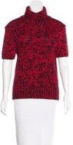 Michael Kors Turtleneck Short Sleeve Top