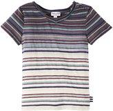 Splendid Classic Stripe Dip Dye Top (Baby) - Dark Blue-18-24 Months