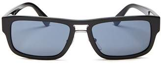 Prada Men's Square Sunglasses, 56mm