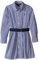 Polo Ralph Lauren Yarn-Dyed Bengal Stripe Dress (Little Kids)