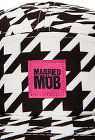 Married to the Mob The Houndstooth 5 Panel in Black and White