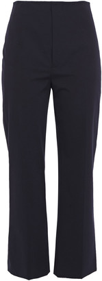 Joseph Adabi Cropped Stretch-cotton Twill Straight-leg Pants