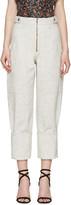 Isabel Marant Off-white Eugenie Jeans