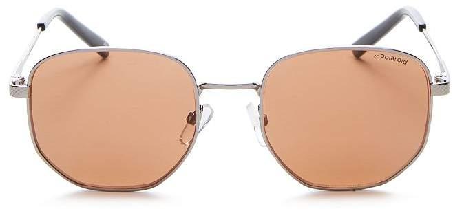 Polaroid Men's Square Sunglasses, 51mm