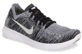 Nike Boy's Free Rn Flyknit 2017 Running Shoe