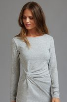 Dynamite Long Sleeve Knit Dress with Knot