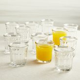 Crate & Barrel Working Glasses 6.25-Oz., Set of 12