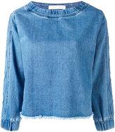 See by Chloe denim top - women - Cotton - 38