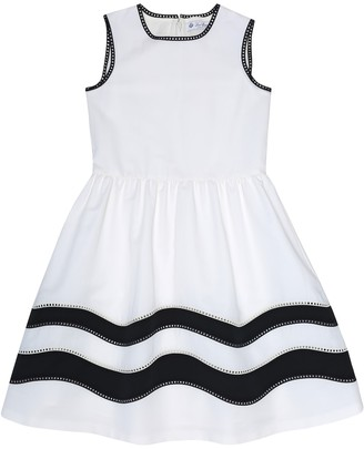 Loro Piana Kids Hanne cotton-blend dress