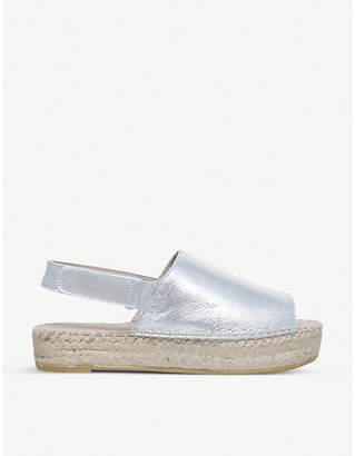 Carvela Kinder metallic leather sandals