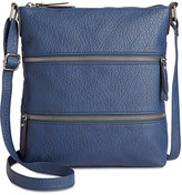 Style&Co. Style & Co Vyniisha Multi Zip Crossbody, Created for Macy's