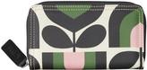 Orla Kiely Stripe Tulip Print Big Zip Wallet - Spring