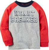 Carter's Preschool Boys Lonsleeve Heart Breaker T-Shirt