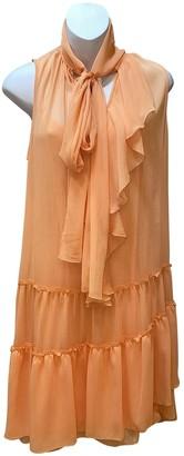 See by Chloe Orange Viscose Dresses