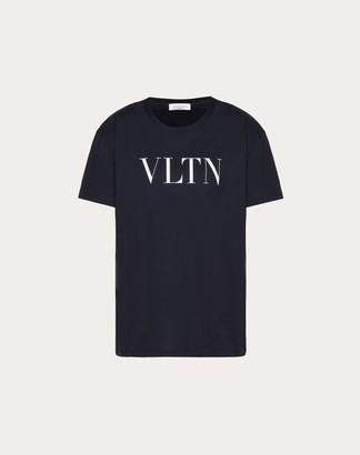 Valentino Vltn Print T-shirt Women White/ Red Cotton 100% L