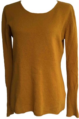 American Vintage Yellow Cashmere Knitwear for Women