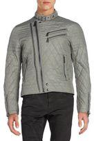 Ralph Lauren Black Label Grand Prix Quilted Moto Jacket
