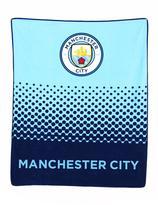 Manchester City Fade Fleece Blanket