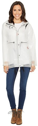 Hunter Vinyl Smock (White) Women's Coat