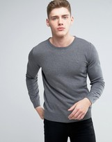 Lindbergh Jumper In Grey Cotton