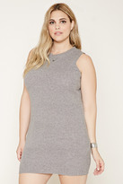 Forever 21 FOREVER 21+ Plus Size Ribbed Knit Tunic