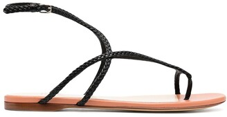 Francesco Russo Strappy Flat Sandals