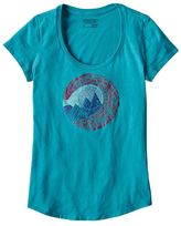 Patagonia Women's Window Racer Cotton/Poly Scoop Neck T-Shirt
