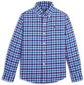 Vineyard Vines Boys' Plaid Flannel Shirt - Big Kid